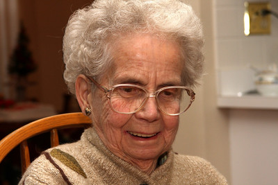 Grandma - Phoenixville, PA ... December 27, 2008 ... Photo by Bob Page Jr.