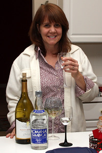 Wendy enjoys her Sambuca - Phoenixville, PA ... December 26, 2008 ... Photo by Bob Page Jr.