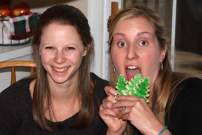 Cookie time - Phoenixville, PA ... December 27, 2008 ... Photo by Rob Page III