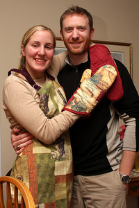 Heather and John enjoying Christmas together - Phoenixville, PA ... December 26, 2008 ... Photo by Bob Page Jr.