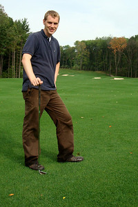 On the course - McHenry, MD ... September 13, 2008