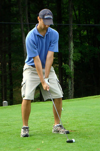 Getting ready to tee off - McHenry, MD ... September 13, 2008 ... Photo by Rob Page III