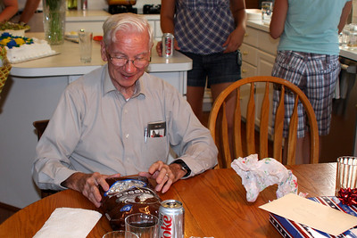 Some Hershey kisses for Grandpa - Phoenixville, PA ... August 17, 2008 ... Photo by Rob Page Jr.