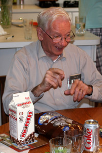Something made grandpa happy - Phoenixville, PA ... August 17, 2008 ... Photo by Rob Page Jr.