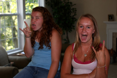 Jenna and Kasey - Phoenixville, PA ... August 17, 2008 ... Photo by Rob Page Jr.