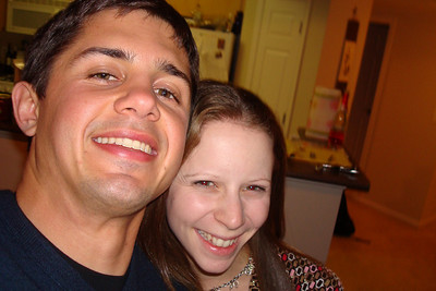 Logan and Emily - Arlington, VA ... January 1, 2008 ... Photo by Logan Kendall