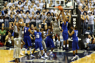Freeman drives to the hoop - December 13, 2008 ... Photo by Rob Page III