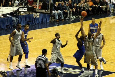 The tenacious Hoya defense - December 13, 2008 ... Photo by Rob Page III