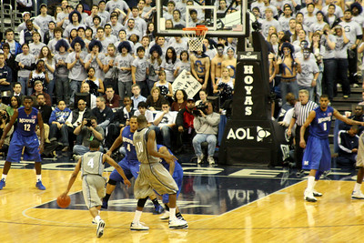 Wright driving to the basket - December 13, 2008 ... Photo by Rob Page III