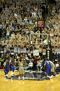 Austin Freeman's shot is up - December 13, 2008 ... Photo by Rob Page III