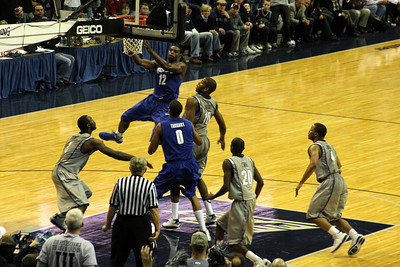 Memphis drives in an attempt to tie the game - December 13, 2008 ... Photo by Rob Page III