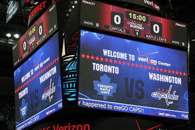 The Toronto Maple Leafs vs. the Washington Capitals - Washington, DC ... December 28, 2008 ... Photo by Rob Page III