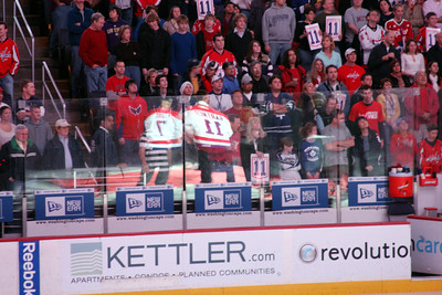 The fans look on - Washington, DC ... December 28, 2008 ... Photo by Rob Page III