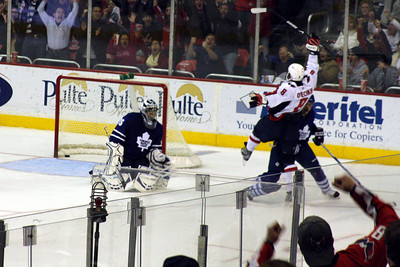 Ovechkin scores - Washington, DC ... December 28, 2008 ... Photo by Rob Page III