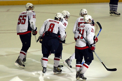 The Capitals score again - Washington, DC ... December 28, 2008 ... Photo by Rob Page III
