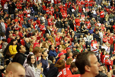 The crowd cheers after Washington scores - Washington, DC ... December 28, 2008 ... Photo by Rob Page III