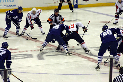The opening faceoff - Washington, DC ... December 28, 2008 ... Photo by Rob Page III