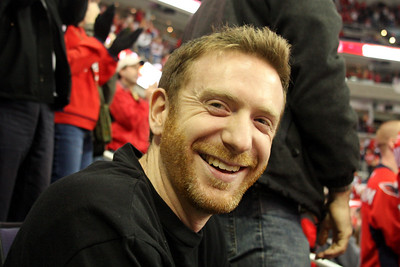 John is all smiles even though Washington scored - Washington, DC ... December 28, 2008 ... Photo by Rob Page III