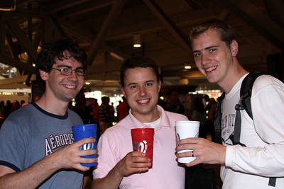 The boys with their beer - Washington, DC ... June 23, 2008 ... Photo by Emily Page