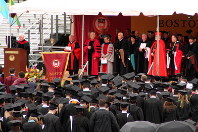 The Boston College Commencement - Chestnut Hill, MA ... May 18, 2009 ... Photo by Rob Page Jr.