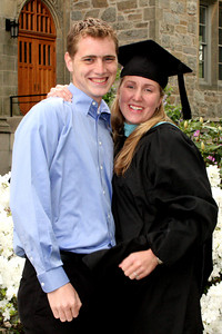 Rob and Heather after she received her diploma - Chestnut Hill, MA ... May 18, 2009 ... Photo by Rob Page Jr.
