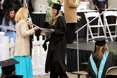 Heather receives her diploma - Chestnut Hill, MA ... May 18, 2009 ... Photo by Rob Page Jr.