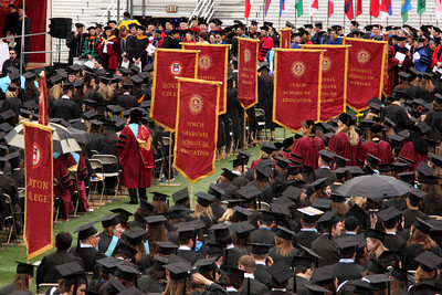 Boston College Commencement - Chestnut Hill, MA ... May 18, 2009 ... Photo by Rob Page Jr.