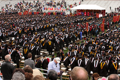 Boston College Commencement Ceremony - Chestnut Hill, MA ... May 18, 2009 ... Photo by Rob Page Jr.