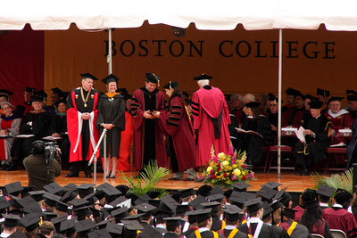 Boston College Commencemnet activities - Chestnut Hill, MA ... May 18, 2009 ... Photo by Rob Page Jr.