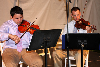 Some music at hte awards - Chestnut Hill, MA ... May 17, 2009 ... Photo by Rob Page Jr.