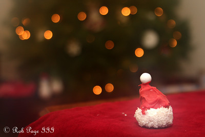 Santa left his cupcake hat - Washington, DC ... December 19, 2009 ... Photo by Rob Page III