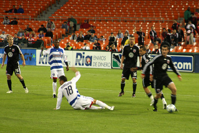 The DC United-FC Dallas game - Washington, DC ... April 22, 2009 ... Photo by Rob Page III