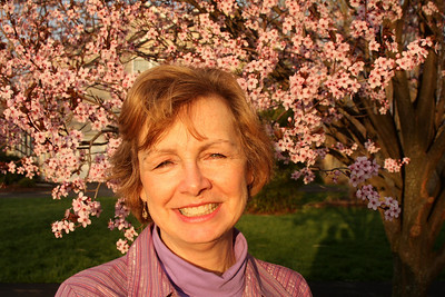 Mom enjoying the lovely sunset - Phoenixville, PA ... April 11, 2009 ... Photo by Rob Page III