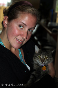 Heather and Roxi - Ottawa, ON ... September 27, 2009 .. Photo by Rob Page III