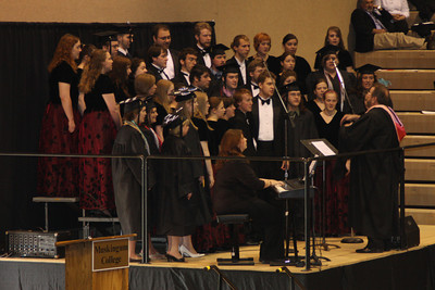 The choir sings - Muskingum, OH ... May 9, 2009 ... Photo by Rob Page Jr.