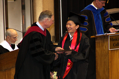 Emma receives her diploma - Muskingum, OH ... May 9, 2009 ... Photo by Rob Page Jr.