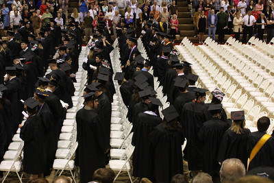 The graduates file in - Muskingum, OH ... May 9, 2009 ... Photo by Rob Page Jr.