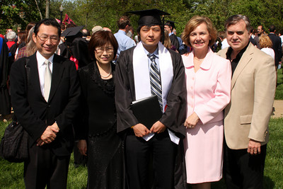 Mama and Papa Kato with Masashi and Mom and Dad Page - Muskingum, OH ... May 9, 2009 ... Photo by Rob Page III