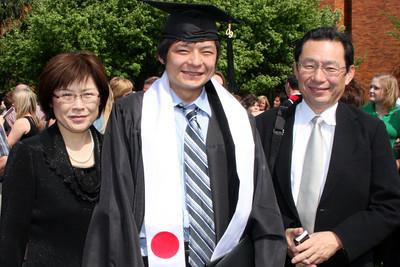 Mama and Papa Kato with Masashi - Muskingum, OH ... May 9, 2009 ... Photo by Rob Page Jr.