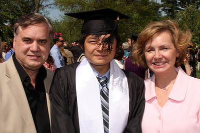 Mom and Dad Page with Masashi - Muskingum, OH ... May 9, 2009 ... Photo by Rob Page Jr.
