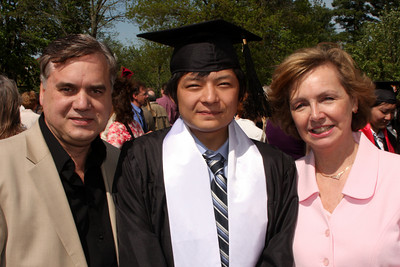 Masashi with the Page parents - Muskingum, OH ... May 9, 2009 ... Photo by Rob Page Jr.