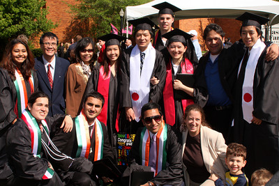 Masashi and all the other foreign students - Muskingum, OH ... May 9, 2009 ... Photo by Rob Page III