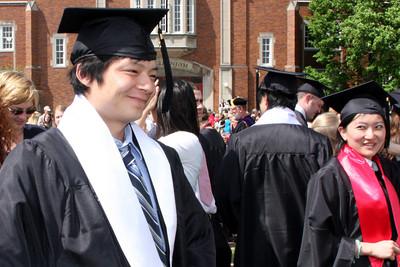 Masashi and Emma the graduates - Muskingum, OH ... May 9, 2009 ... Photo by Rob Page Jr.