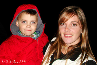 Kristen with Dylan, Randy's daughter and grandson - Perkasie, PA ... October 10, 2009 ... Photo by Rob Page III
