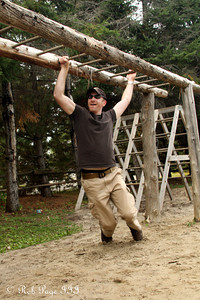 John doing the monkey bars - Ottawa, ON ... September 26, 2009 ... Photo by Rob Page III