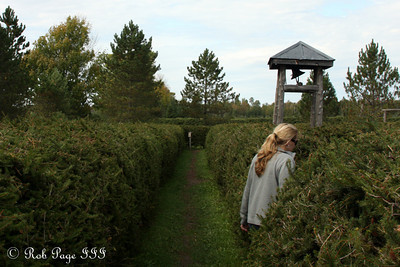 Heather meandering about in the musical maze - Ottawa, ON ... September 26, 2009 ... Photo by Rob Page III