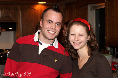 Kevin and Emily enjoying Thanksgiving - Reading, PA ... November 26, 2009