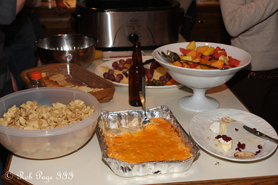A small portion of dinner - Reading, PA ... November 26, 2009