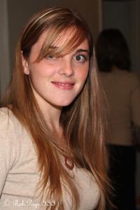 Kristen enjoying Thanksgiving - Reading, PA ... November 26, 2009