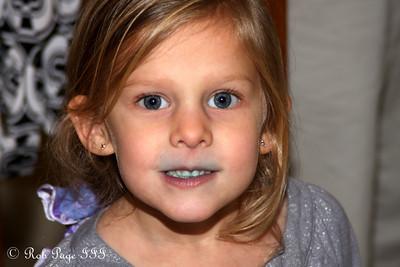 Blue smiles - Reading, PA ... November 26, 2009